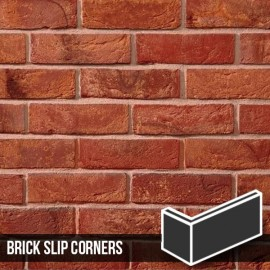 Antique Mixture Brick Slip Corners