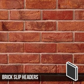 Antique Mixture Brick Slip Header