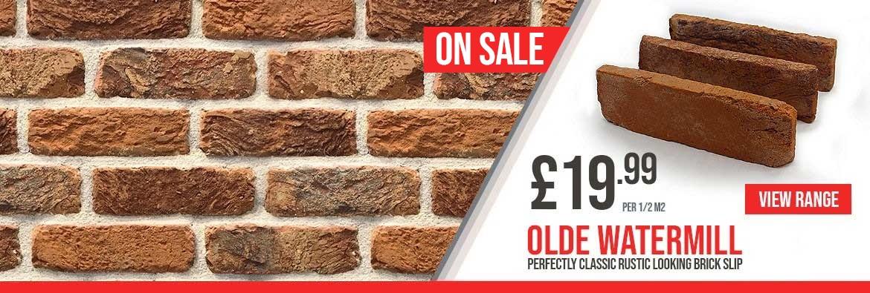 Olde watermil Classic looking brickslip