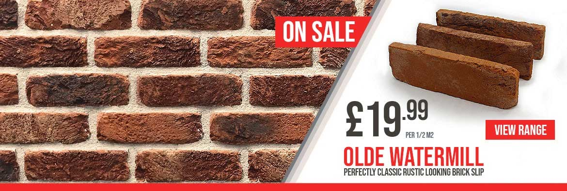 Olde watermil Classic looking brickslip