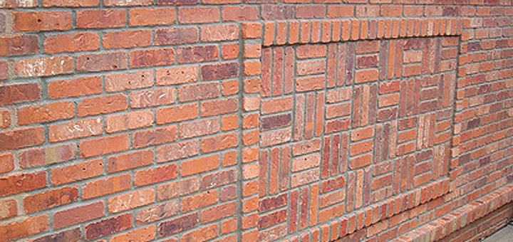 Create a unique feature wall with brick slip bonding - Brick wall patterns designs ...