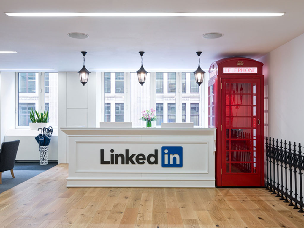 Linkedin Reception