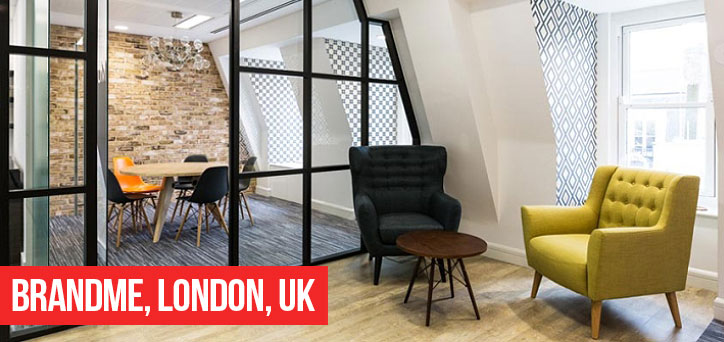 Brandme Offices London Stock Brick