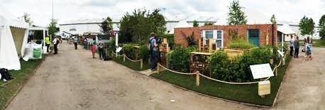 NEC Birmingham Brick Slips Gardeners World Live