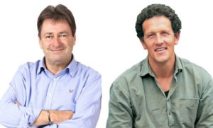 Monty Don and Alan Titchmarsh