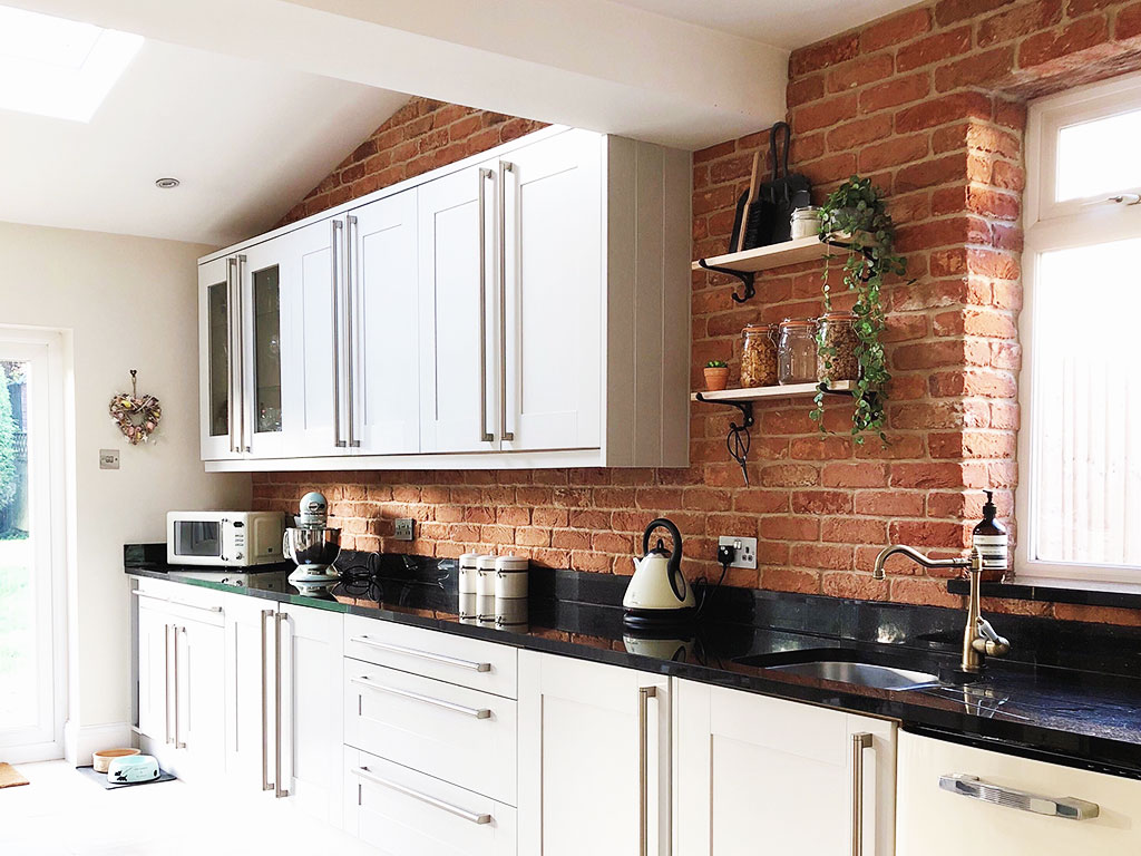 Olde Bayswater Kitchen Brick Slips
