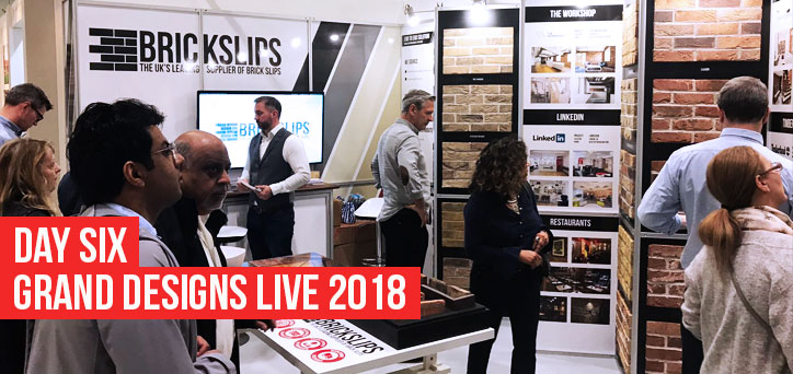 Day 6 at Grand Designs Live London