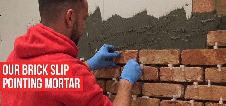 Our brick slip Pointing mortar - Brick Slips