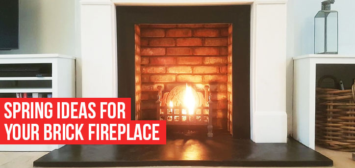 Spring Ideas for Your Fire Place