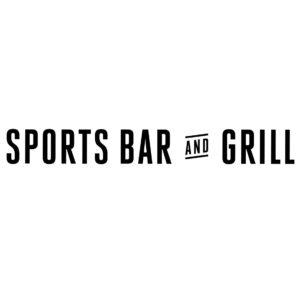 Sports Bar & Grill Logo