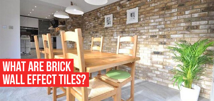 What are brick wall effect tiles