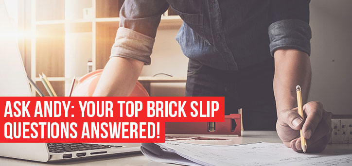 Top Brick slips questions