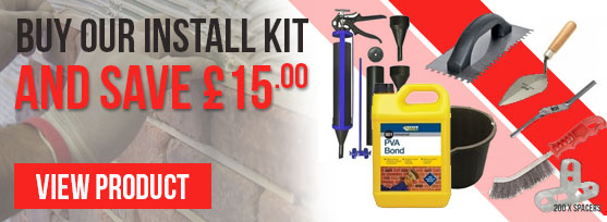 Brick Slips Offer - Save £15 when you buy our Install Kit!