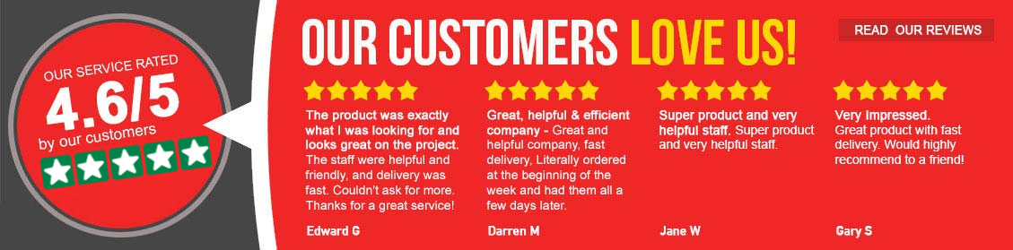 Customer Reviews - Our customers love us!